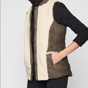 Athlete Responsible Down Vest - Brand New